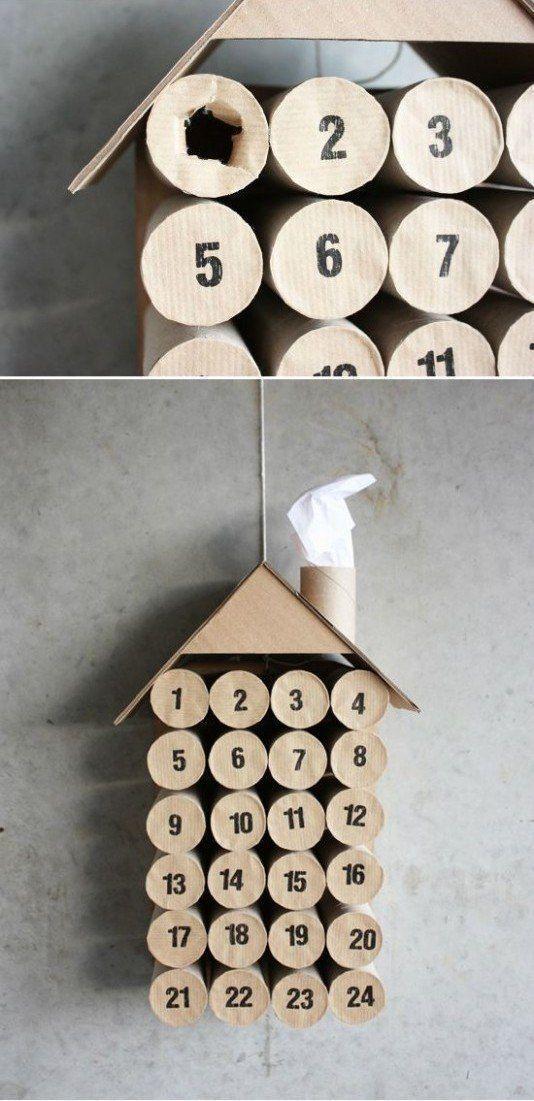 Calendrier De Lavent En Rouleau Papier Toilette.Calendriers De L Avent Notre Selection De Modeles A