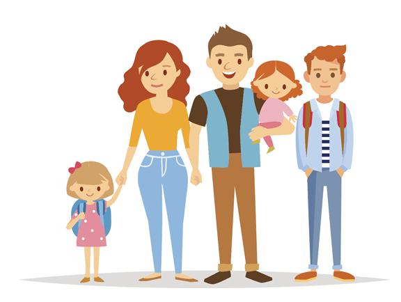 Les familles nombreuses, bénéfiques pour le développement des ...