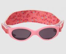 Équipées d un bandeau ajustable, ces lunettes sont parfaites pour des  petits bébés gigoteurs. Elles sont 100% contre les UVA et les UVB (catégorie  4). 06aac4fd01e0